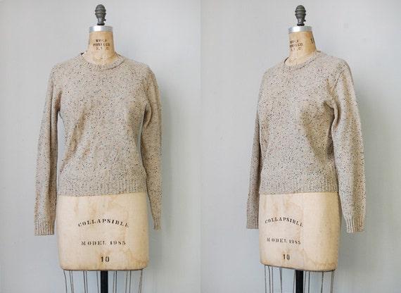 vintage 60s sweater / vintage pendleton sweater / vintage 1960s sweater / vintage wool sweater