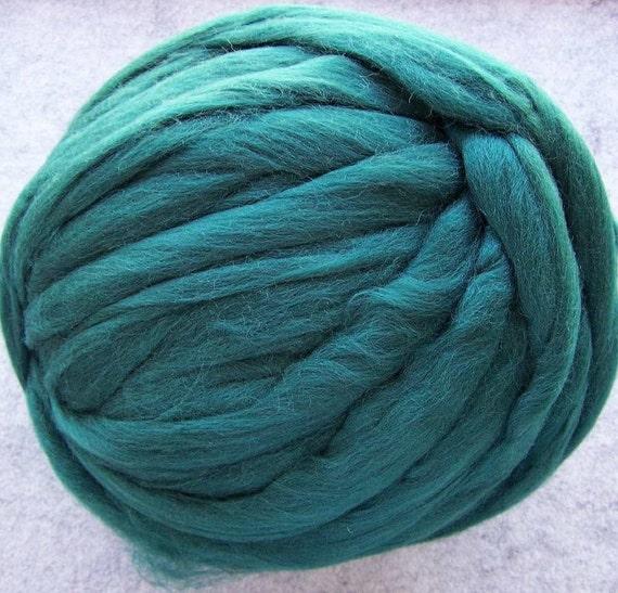 Roving Colonial Wool - Tartan Green -  8oz