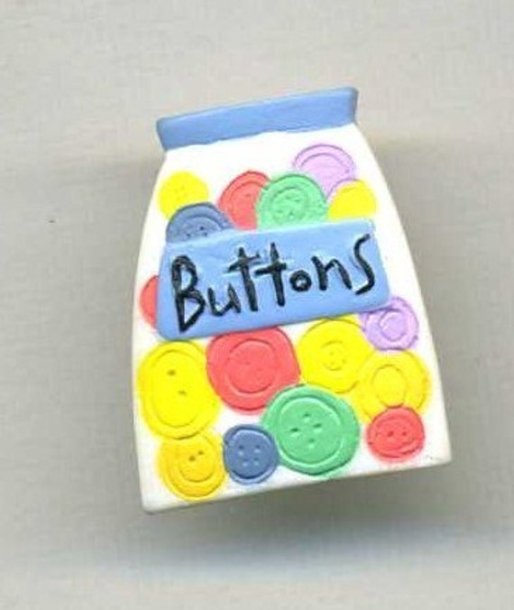 JAR OF BUTTON ROSIN BUTTONS