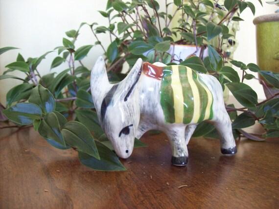 Vintage Donkey Mule Burro Planter Collectible