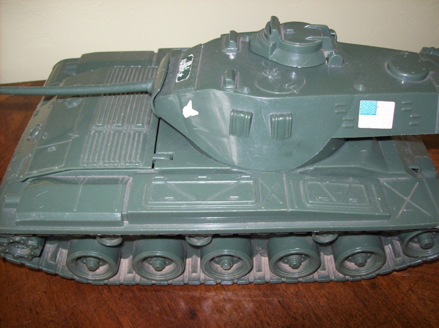 Sale 6 Vintage Toy Army Tank Plastic Made In Usa Was 8 00