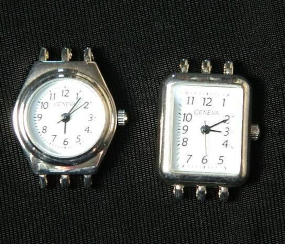 Watch Faces - Set of 2 different variations for multistrand beading