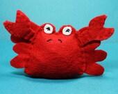 Catnip Cat Toy - Crabby Crab
