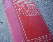 Vintage Book The Four Feathers