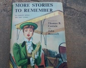 Vintage Book More Stories To Remember