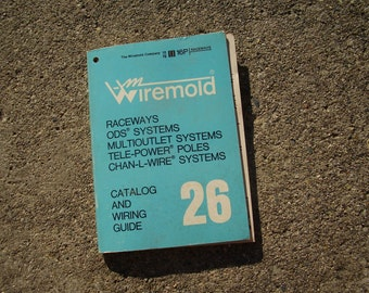 Vintage Wiremold Catalog And Wiring Guide