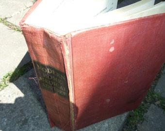Vintage Book Modern Home Medical Adviser Vintage Red Book Vintage Book of Health