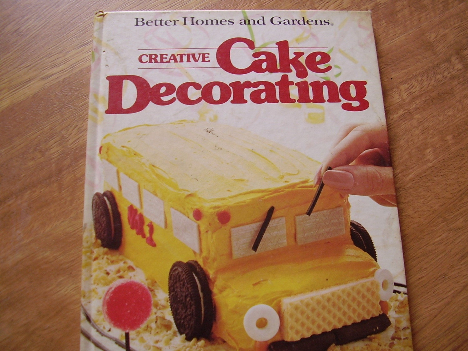 Vintage Book Better Homes And Gardens Creative Cake