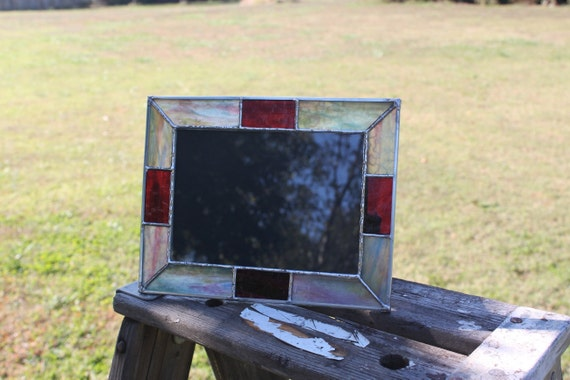 5 x 7 Raspberry and Green  Picture Frame