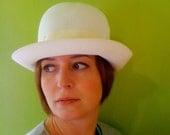 1960s White Kangol Hat