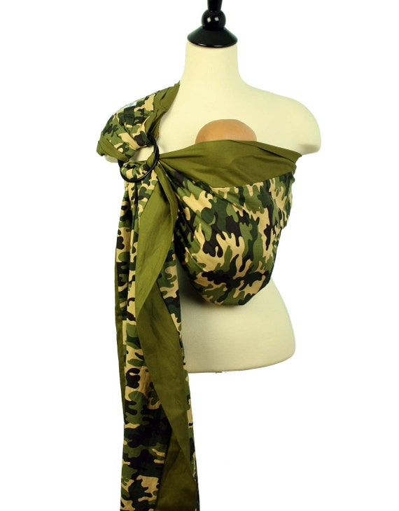 Prestige Ring Sling Baby Sling Baby Carrier - Camouflage - FAST SHIPPING - Instructional DVD Included