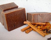 Cinnamon and Spice and Everything Nice Organic Handcrafted Soap by Garden of Holly 5oz bars