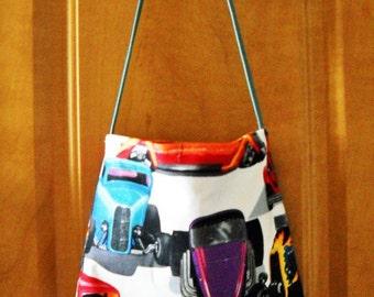 Hot Rod Car Purse or Handbag Streetrods Medium Shoulder Bag