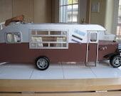 Doll House Miniature Assembled Kit OOAK  R V