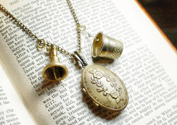 Peter Pan Charm Necklace - Fairytale Pendant