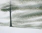 Storm Tree 5x7 FINE ART PRINT