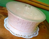 Pink Rommer Sewing Basket