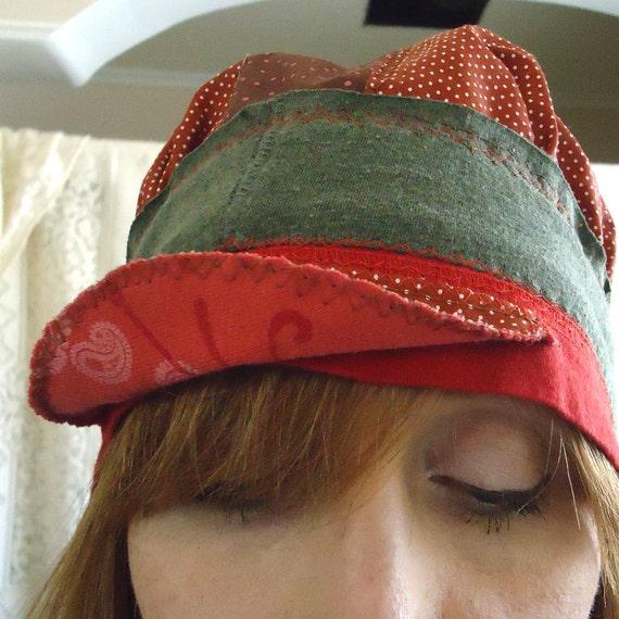 Red Polka Dot Cap