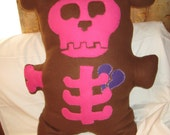 Giant Deady Bear Cuddle Pillow custom for coffincritters