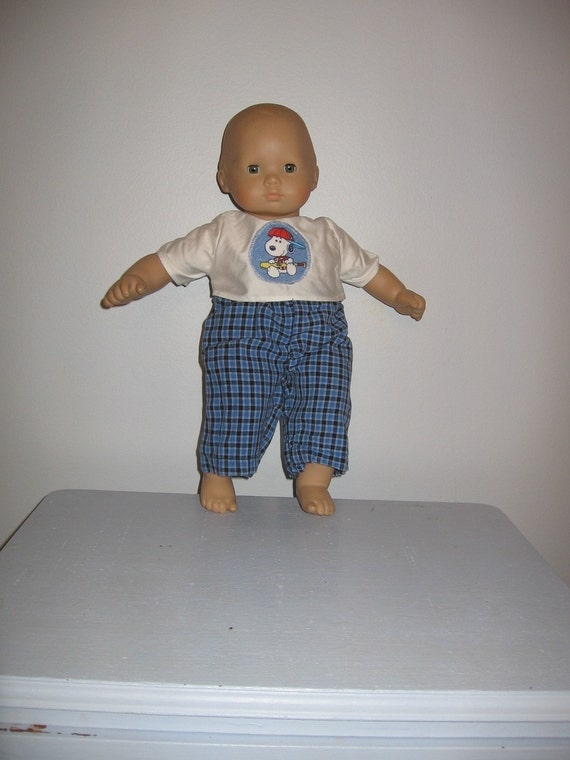 Boy Doll Clothes Fit Bitty Baby Or Similar 15 Inch Doll