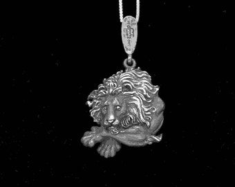LION FACE PENDANT