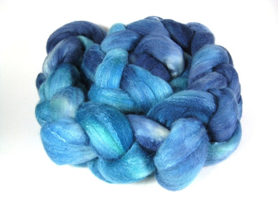 POOL Merino/Silk for Spinning - 4 oz - Combed Top