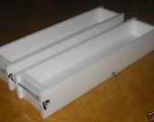 Soap mold two 4-5 Lb no liner soap molds wooden lids & cutters avail. E