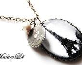 JE TAIME PARIS Silver Vintage Necklace