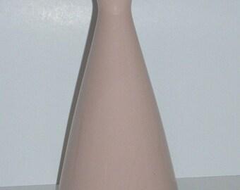 Mid Century Modern USA Pink Lenox Porcelain Bud Vase
