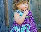 Delaney updated pillowcase dress, size 12mos.-10 girls