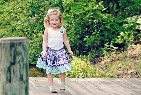 Last one! Delaney  twirl skirt, sizes newborn-10 girls