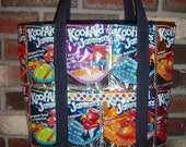 Tote Bag made from Kool-Aid Juice Pouch Bags