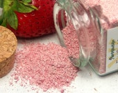 Organic Strawberry Face Scrub Natural and eco-friendly facial breakfast no soap vegan cleanser great for acne