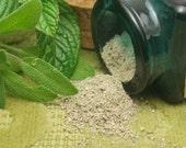 Organic Peppermint Sage Facial Cleansing Grains scrub polish natural SAMPLE