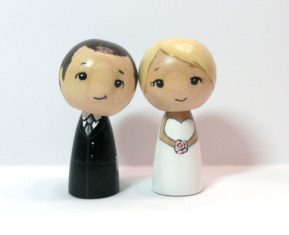 Adorable Wedding Cake Toppers