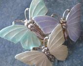 Huge Pastel BUTTERFLY STATEMENT RING
