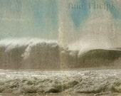 The crashing wave. Fine Art Photography.