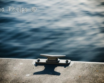 The cleat at the dock. Fine Art Photography.