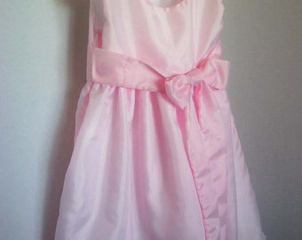 Custom Order - Pink  Flower Girl Dress