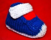 Knit PATTERN Sneaker Booties for Baby PDF