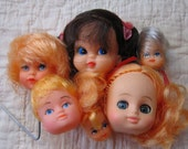 New Old Stock Doll Heads