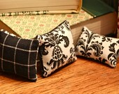 Miniature Playscale Throw pillow cushion for your Blythes, Momoko, Barbie, Fashion Royalty Dioramas