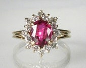 Ruby Diamond Estate Ring - Appraisal Included