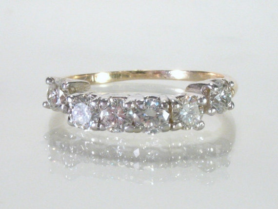 Diamond Wedding Band - Set Match - 1.00 Carat Diamond Total Weight - Appraisal Included