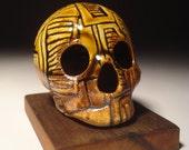 Rectangle Repeat Skull