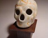 Peach Vines Skull