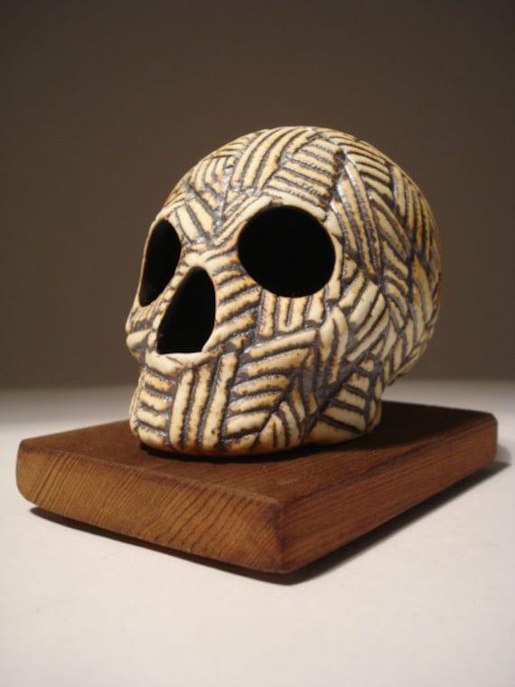 Triangular Division Skull