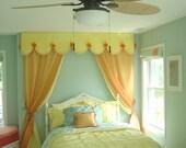 Canopy / Custom canvas valance, window treatments