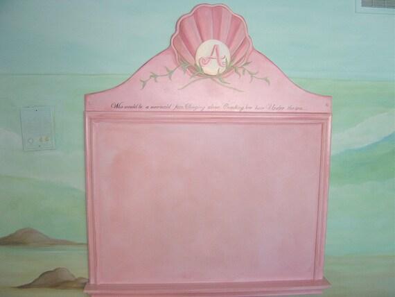 Mermaid Custom Bulletin Board