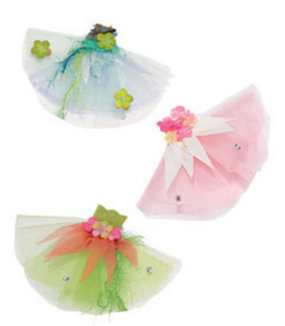 fairy dresses for wallart and birthday party favors